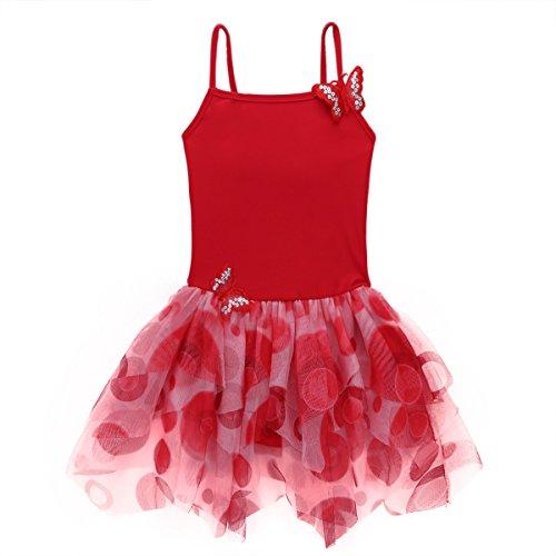 IEFIEL Vestido Danza Maillot Falda Ballet Tutú Danza