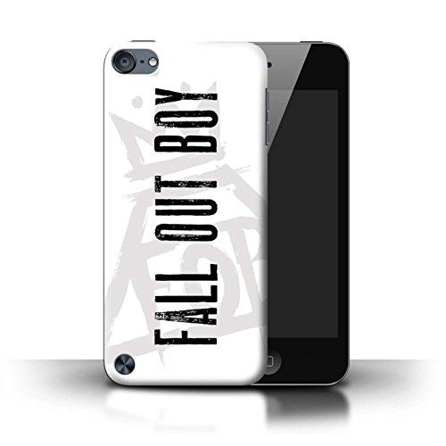 Offiziell Fall Out Boy Hülle / Case für Apple iPod Touch 5 / Pyramide/Weiß Muster / FOB Band Logo Kollektion (4 Boy Ipod Fällen)
