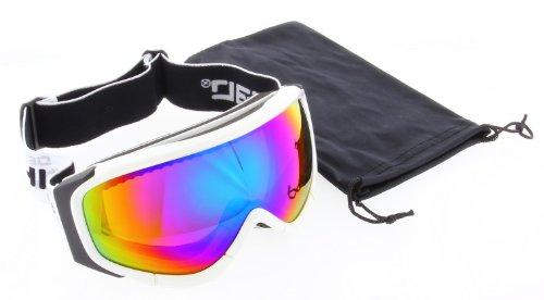 Herren - Damen - Skibrille - Snowboardbrille - Brille - NEU - Ski - Snowboard - Weiß