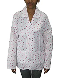 All Sesion Suncoat- Dust Pollution Protection Driving Traveling Coat Long Sleeves Cotton Jacket for Women (Important Note : Print Design may vary, As per Stock) - SunCoat02.