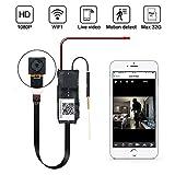 Mini Caméra Espion LXMIMI 1080P Caméra Espion Cachée sans Fil Caméra Espion WiFi de Sécurité à Domicile avec Contrôle de l'App de Détection de Mouvement pour iOS et Android