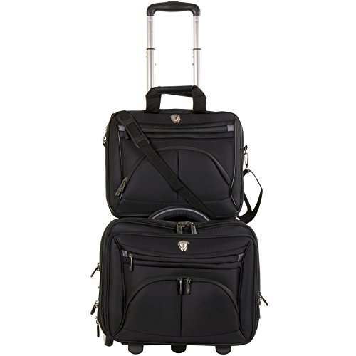 calpak-ceo-black-2-piece-rolling-laptop-briefcase-set
