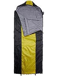 10T Selawik 100 XXL Camping Schlafsack bis -3°C Outdoor Deckenschlafsack 230x100 cm Hüttenschlafsack mit 1600g Trekking Reiseschlafsack für 2 - 3 Jahreszeiten Frühling Sommer Herbst
