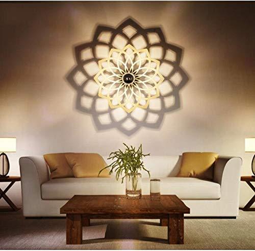 Einfache Wand-Lampe Kreative Led Personalisierte Wohnzimmer Wandleuchte Treppe Eingang Wandleuchte Schlafzimmer Bedside Lampe Wandleuchte Schatten Lampe (größe : Kleine) - L Schatten