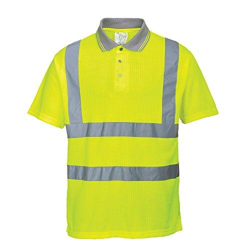 Portwest Hochsichtbares Poloshirt, Größe S-5XL, Gelb Yellow