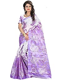 Shushila Saree Women's Bhagalpuri Art Silk Saree With Blouse Piece