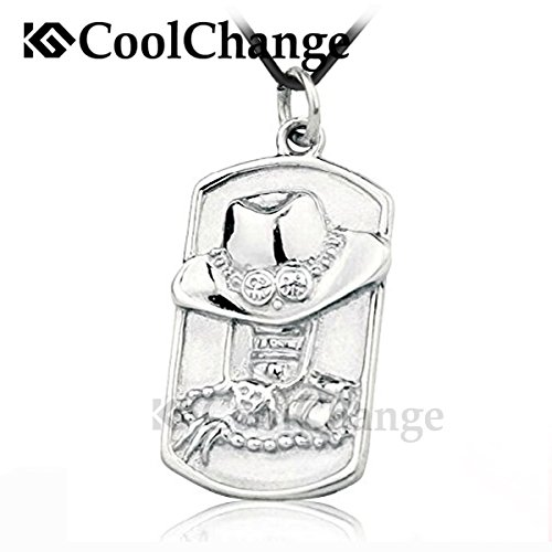 CoolChange One Piece Halskette mit Anhänger von Puma D. Ace aus echtem 925