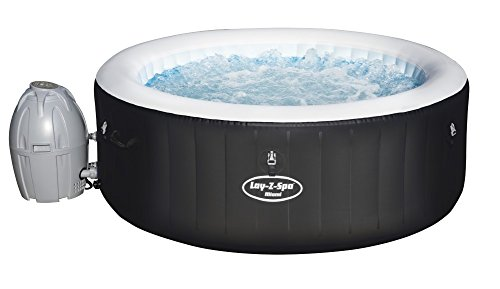 Bestway - Spa gonflable jacuzzi Lay Z Spa Miami 4 places, diamètre 180 cm hauteur 66...