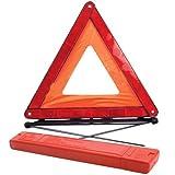 Guilty Gadgets ® Großes Warndreieck, reflektierend, Straßennotfall Pannenhilfe