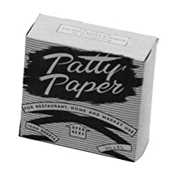 Johnson-Rose Hamburger Patty Paper, Pack of 1500