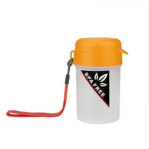 Wasserflasche Tragbare Sport Wasserflasche Plastikwasser Cup kreativer Wasserkocher Flagon Reise Cup Küche Haushalt Wohnen Geschirr Besteck Gläser