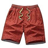 LILICAT Pantalones de Playa Pantalones Cortos Ajustados Men's Tight Shorts, Bodybuilding Shorts Pantalones Cortos para Hombre Fitness Culturismo Bañador Hombre Playa Natación Ropa Trajes de Baño