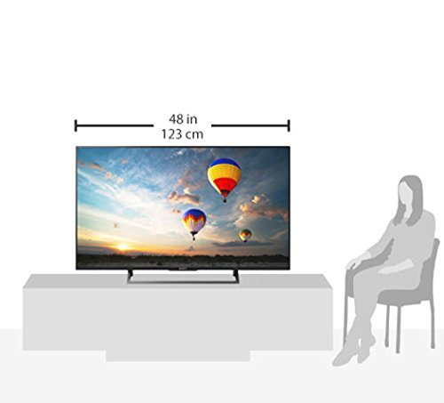 Sony KD-55XE8096 - Televiseur 55'' 4K HDR LED Android TV (Motionflow XR 400 Hz, 4K X-Reality PRO, TRILUMINOS Display, Wi-Fi), noir