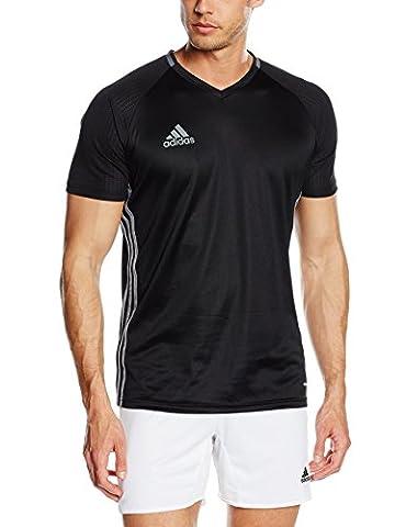 adidas Herren Trainingstrikot Condivo16, Black/Dark Grey/Vista Grey, M, S93530