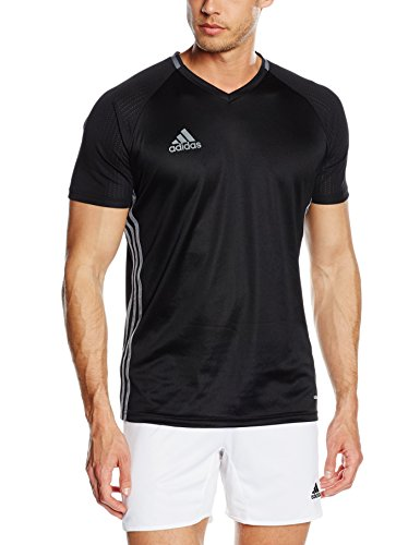 adidas Herren Trainingstrikot Condivo16, Black/Dark Grey/Vista Grey, L, S93530 (Adidas Training)
