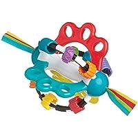 Playgro-4082426 Pelota Alfombras de Juego y gimnasios, Color Azul, Rojo, Blanco, Verde (4082426)