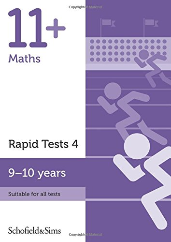 11+ Maths Rapid Tests Book 4: Year 5, Ages 9-10