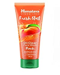 Himalaya Fresh Start Oil Clear Face Wash, Peach, 50ml