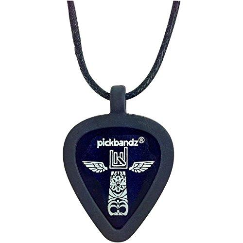 Pickbandz Collier–Epic–Noir–Support pour médiator de guitare