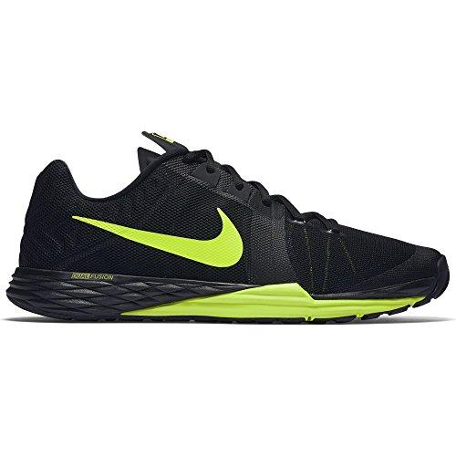Nike Herren Train Prime Iron DF Wanderschuhe, Black (Schwarz / Volt-Cool Grey), 42.5 EU Wanderschuh Herren Nike