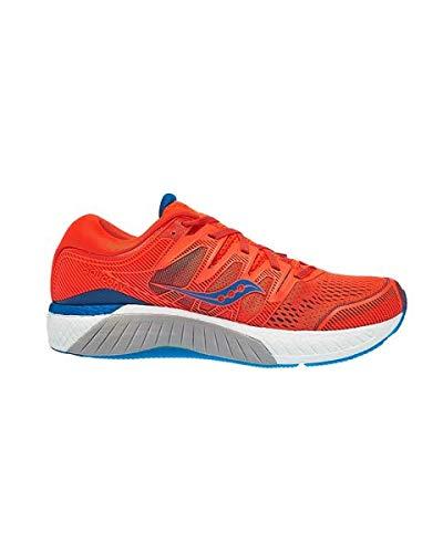 Saucony Hurricane ISO 5 Herren Orange Blau 43  - Saucony Schuhe Blau