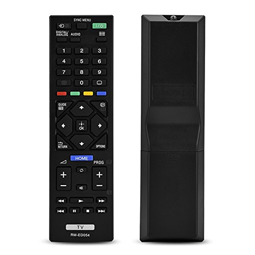 Reemplazo de Control Remoto Universal para Sony Smart TV RM-ED054, Control Remoto de TV 4K para Sony RM-ED054 LCD LED TV