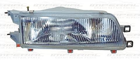 Aftermarket Toyota Camry 1987-1991 Headlamp Rh, Os, Right Handed, Driver Side, Off Side