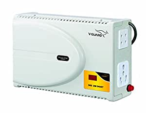 V-Guard Digi 200 Smart TV Stabilizer with Digital Display, Up To 70 Inch, Of Load 6 Ampier (123456, Grey)