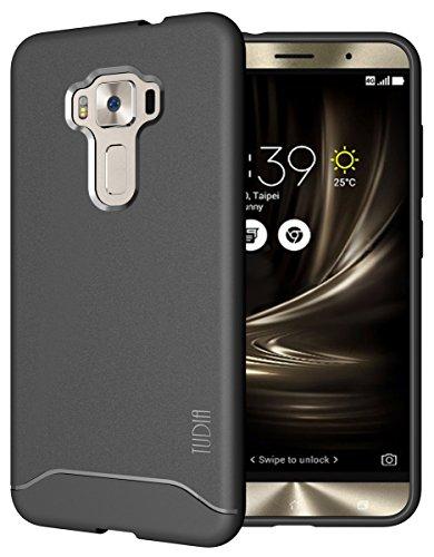 TUDIA ARCH TPU Schutzhülle ASUS ZenFone 3 ZE552KL (5.5 inch) Ultra Slim Hülle (Grau)