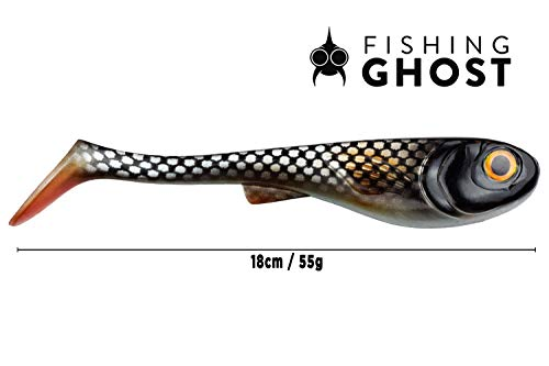 FISHINGGHOST XL Leurre Pike GrumpyOne Select 55gr,...