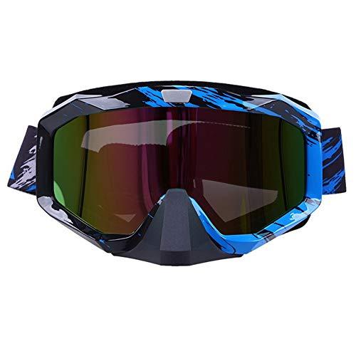 Motocross Goggles Eyewear Brille zusammenklappbar Motocross Motorradhelm Goggles Ski/Skate Brille Cafe Racer Sunglasse