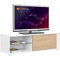Comifort TV80 Meuble TV de salon moderne 100x 36x 32cm