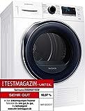 Samsung DV80K6010CW Wärmepumpentrockner/A++/8 kg/Weiß/Blitzschneller Wassertank-Check/SmartCheck/weiß