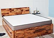 Wakefit Andromeda Sheesham Bed with Storage (Queen Size Bed), Solid Wood Double Bed