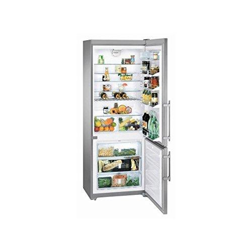 Liebherr cnpesf5156autonome 453l A + + Silber, Edelstahl Kühlschränken-réfrigérateurs-congélateurs (453l, kein Frost (Kühlschrank), sn-t, 14kg/24h, A + +, silber, Edelstahl) -