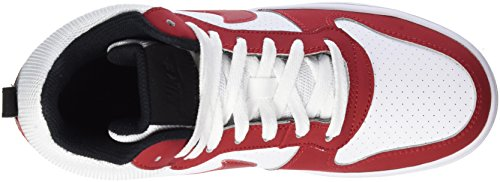 Nike 838938-101, Scarpe da Ginnastica Uomo Multicolore (Blanc/noir/rougesportif)