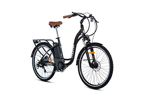 Moma Bikes Ebike 26.2 Hydraulic Vélo Electrique VAE De Ville, Ebike-26.2 Adulte Unisexe, Noir, Unic...