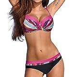 Darringls Bikini Donna, Costumi da Bagno Costumi Donna Mare Due Pezzi Brasiliana Push Up Costumi Mare da Donna Interi Taglie Forti 2019 più Nuovo Bikini Pezzo di V Profondo Beachwear