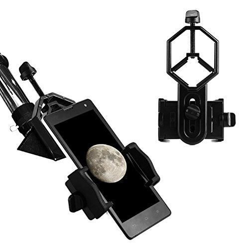 Aomekie AO7020 Universal Handy Adapter Halterung für Teleskop Fernglas Mikroskop Spektiv und...