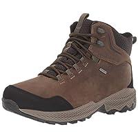 MERRELL Erkek Forestbound Mid Wp Trekking ve Yürüyüş Ayakkabısı J16497, Kahverengi