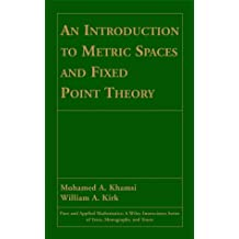 Metric Spaces (Pure and Applied Mathematics: A Wiley Series of Texts, Monographs and Tracts)