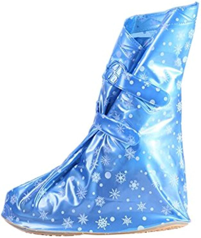 Meijunter Männer Frauen Unisex PVC Wasserdicht Wear resistant Verdicken Sole Anti slip Schnee Boots Regen Schuhe