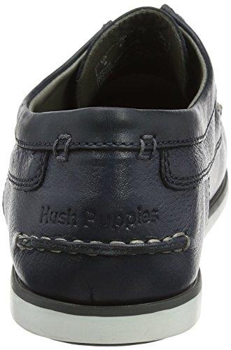 Hush Puppies Herren Davo Portland Derby Schnürhalbschuhe Blau (Navy)