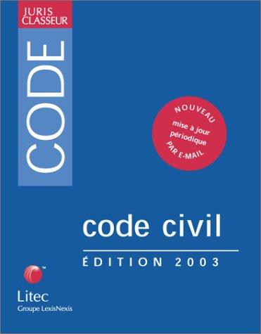 Code civil 2003, 22e édition (ancienne édition) par A. Lucas