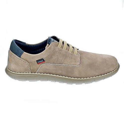Callaghan 11004 Chaussure Beige En Cuir Taupe