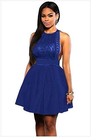 MEINICE - Robe spécial grossesse - Femme - Bleu - L