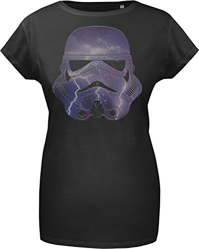 GOZOO Star Wars T-shirt Donna Imperial Stormtrooper - Thunder 100% Cotone S