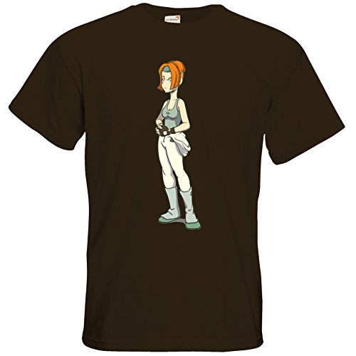 getshirts - Daedalic Official Merchandise - T-Shirt - Deponia Doomsday - Futuregoal Chocolate