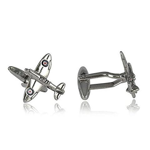 Hrph Aircraft Cufflinks Jewelry Shirt Cufflinks Cuff Buttons Pattern Cuff Link For Men Gift