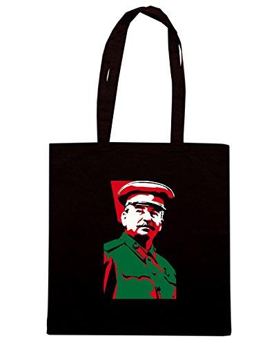 T-Shirtshock - Borsa Shopping TCO0073 iosif-stalin Nero